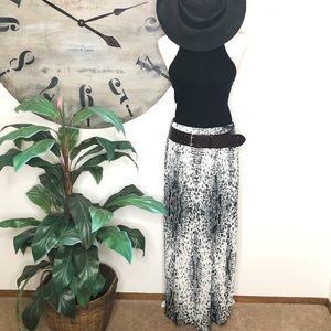 New York & Company snake print maxi skirt. Size M